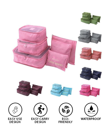 Travel Organizer Bag Set
