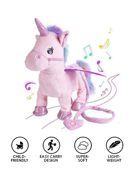 Musical Unicorn Plush