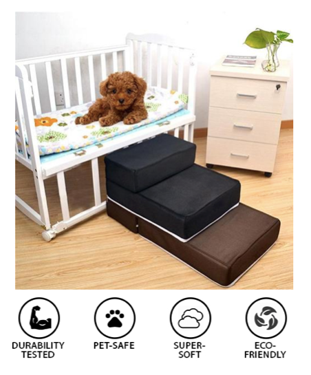 Pet Stairs Ramp Bed