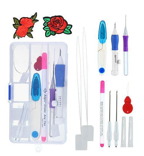 Embroidery Pen | Home Accessories & Clothing - Artistic Embroidery Pens Tool Kit