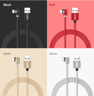Magnetic Charging Cable | Home Accessories - Powerful 360° Magnetic Charging Cable