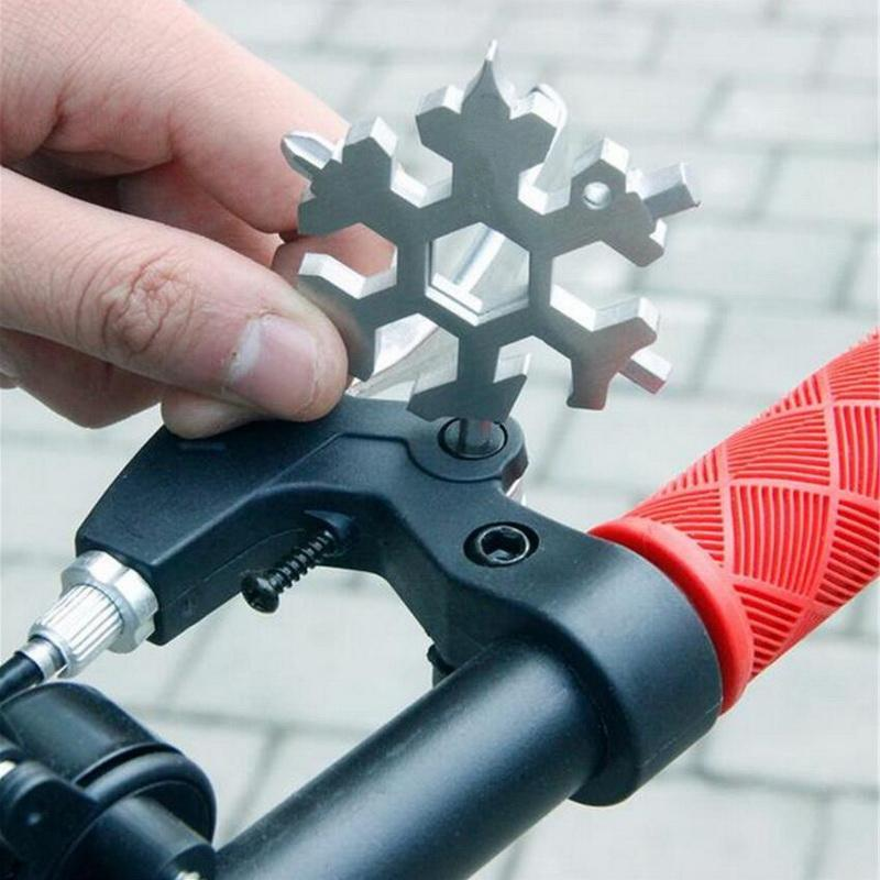 Snowflake Multi Tool | Home Accessories & Sports And Outdoor - 18-in-1 Snowflake Multi Tool