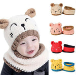 Toddler Scarf And Beanie | Baby Accessories - Adorable Toddler Scarf And Beanie Set (1-4 Yrs)