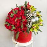 Holiday Roses and Orchids