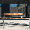Pond bench vonk