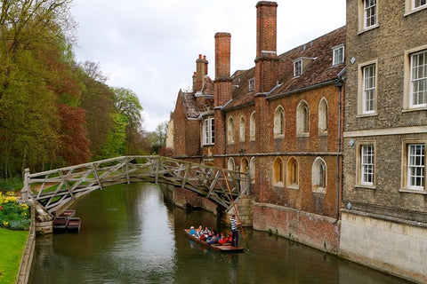 The mathematical bridge in Cambridge