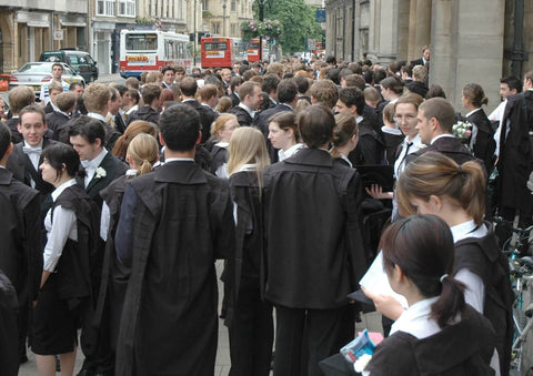 Students at the University of Oxford