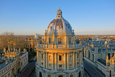 One of the most famous views of Oxford University