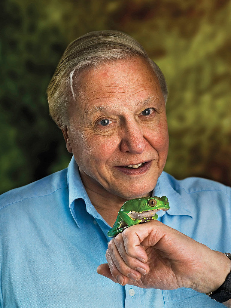David Attenborough - he also studied at Cambridge