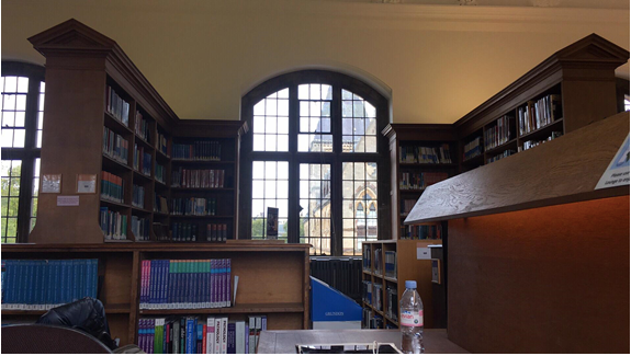 Oxford tutorial room