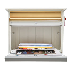 Mailsafe Locking Wall Mount Mailbox
