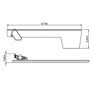 mailbox flag dimensions. Aluminum Replacement Flag Mailbox Dimensions