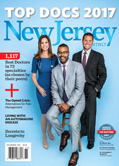 November 2017: Top Docs 2017 - New Jersey Monthly Magazine