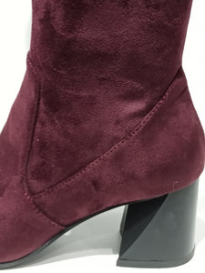 bruno premi chaussures hiver bottes prune promotions
