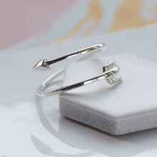 Silver Arrow Ring