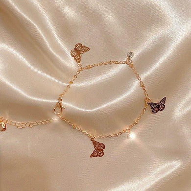 Gives Me Butterflies Anklet
