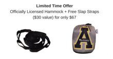 Premium Custom Hammocks with your LOGO - Includes Free Getaway Straps ($30.00 value)