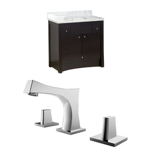 "American Imaginations Elite 36"" Single Sink Vanity Set - Vanity Connection"