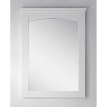 "Load image into Gallery viewer, American Imaginations Shaker 24"" Wood Mirror White AI-17425 - Vanity Connection"