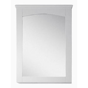 "American Imaginations Shaker 24"" Wood Mirror White AI-17425 - Vanity Connection"