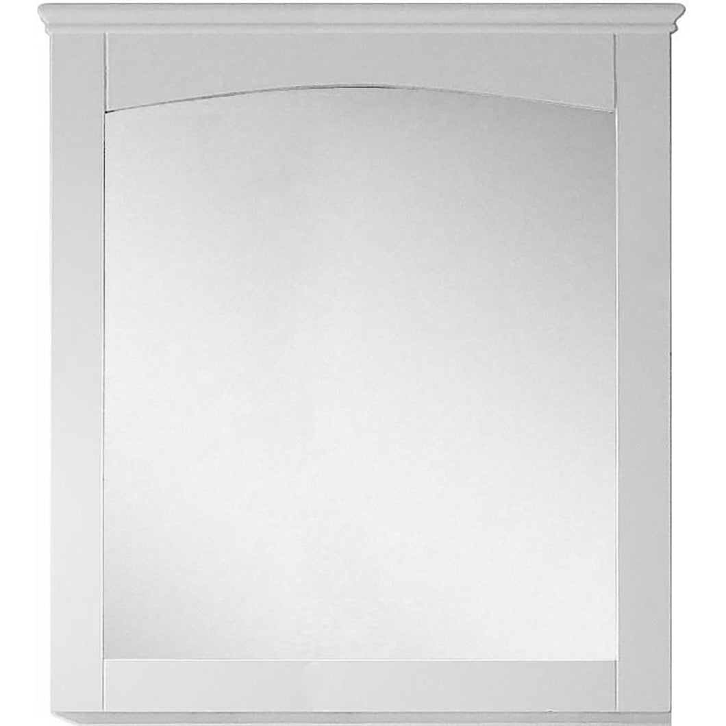 "American Imaginations Shaker 30"" Wood Mirror White AI-17426 - Vanity Connection"