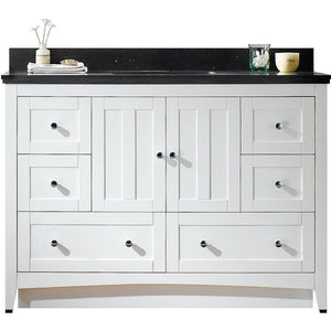 "American Imaginations Shaker 47.6"" Single Sink Vanity Set - Vanity Connection"
