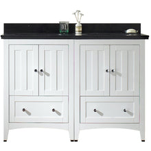 "Load image into Gallery viewer, American Imaginations Shaker 47.5"" Double Sink Vanity Set - Vanity Connection"