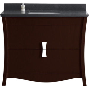 "American Imaginations Bow 47.6"" Single Sink Vanity Set - Vanity Connection"