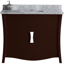 "Load image into Gallery viewer, American Imaginations Bow 47.6"" Single Sink Vanity Set - Vanity Connection"