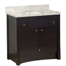 "Load image into Gallery viewer, American Imaginations Elite 36"" Single Sink Vanity Set - Vanity Connection"
