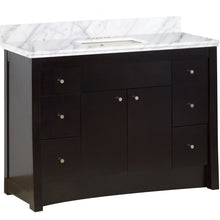 "Load image into Gallery viewer, American Imaginations Elite 47.6"" Single Sink Vanity Set - Vanity Connection"