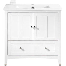 "Load image into Gallery viewer, American Imaginations Shaker 35.5"" Single Sink Vanity Set - Vanity Connection"