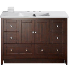 "Load image into Gallery viewer, American Imaginations Shaker 48"" Single Sink Vanity Set - Vanity Connection"