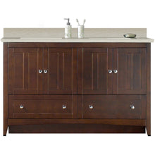 "Load image into Gallery viewer, American Imaginations Shaker 59"" Double Sink Vanity Set - Vanity Connection"