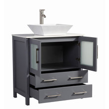 "Load image into Gallery viewer, Legion Furniture 30"" Solid Wood Sink Vanity with Mirror WA7830 - Vanity Connection"