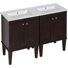 "Load image into Gallery viewer, American Imaginations Roxy 48"" Double Sink Vanity Set - Vanity Connection"