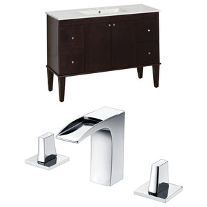 "American Imaginations Roxy 48"" Single Sink Vanity Set - Vanity Connection"
