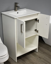 "Load image into Gallery viewer, Volpa USA Cabo 24"" Modern Bathroom Vanity MTD-3224"