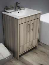 "Load image into Gallery viewer, Volpa USA Pacific 24"" Modern Bathroom Vanity MTD-3124"