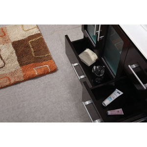 Design Element Stanton 36″ Single Sink Vanity Set in Espresso B36-DS - Vanity Connection