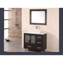 Load image into Gallery viewer, Design Element Stanton 36″ Single Sink Vanity Set in Espresso B36-VS - Vanity Connection