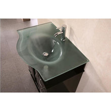 "Load image into Gallery viewer, Design Element Huntington 30"" Single Sink Vanity Set in Espresso DEC015A - Vanity Connection"