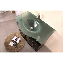 "Load image into Gallery viewer, Design Element Huntington 36"" Single Sink Vanity Set in Espresso DEC015B - Vanity Connection"