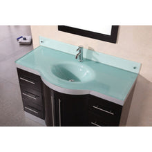 "Load image into Gallery viewer, Design Element Jade 48"" Single Sink Vanity Set w/ Glass Top DEC024-GTP - Vanity Connection"