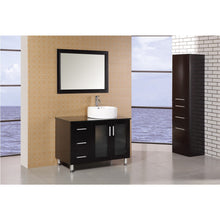 "Load image into Gallery viewer, Design Element Malibu 39"" Single Sink Vanity Set in Espresso DEC066B-E - Vanity Connection"