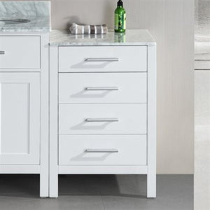 "Design Element London Stanmark 20"" Cabinet in White DEC076MCAB-W - Vanity Connection"