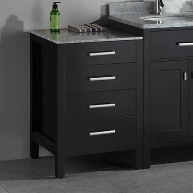 Design Element London Stanmark 20″ Cabinet in Espresso DEC076MCAB - Vanity Connection