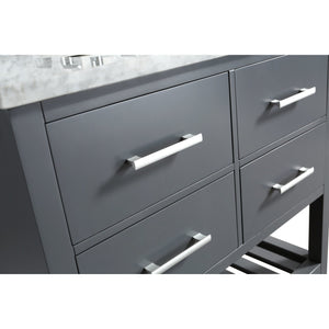 Design Element London Cambridge 36″ Single Sink Vanity Set in Country Gray DEC077A-G - Vanity Connection