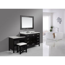 Load image into Gallery viewer, Design Element London Hyde 48″ Single Sink Vanity Set in Espresso Finish w/ Make-up table DEC082C_MUT - Vanity Connection