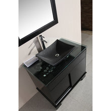 "Load image into Gallery viewer, Design Element Oasis 36"" Single Sink Vanity Set with Decorative Drawer in Espresso DEC105-36 - Vanity Connection"